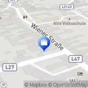 Karte Fuchs Anton Großweikersdorf, Österreich