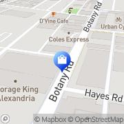 Map CBD Furniture Alexandria, Australia
