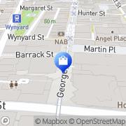 Map Carin Holmes Sydney, Australia