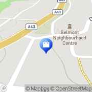 Map All Coast Batteries Belmont North, Australia