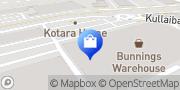 Map Domayne Penrith Jamisontown, Australia