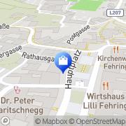 Karte St. Josef Apotheke - Mag J. Winkelmaier Fehring, Österreich