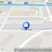 Karte Müller Drogeriemarkt Neunkirchen, Österreich