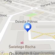 Mapa Apteka św. Rocha Nowy Tomyśl, Polska
