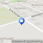 Karta Gupo Gummiprodukter Norrköping, Sverige