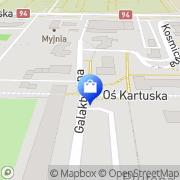 Mapa Sano Legnica, Polska