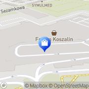 Mapa adidas Store Koszalin, Polska