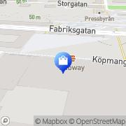 Karta JC Katrineholm, Sverige