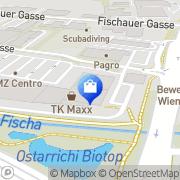 Karte C&A Mode Wiener Neustadt, Österreich