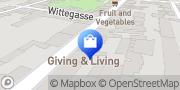 Karte GIVING & LIVING - Geschenkboutique Wien, Österreich