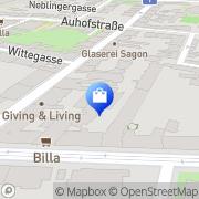 Karte Westend-Apotheke Wien, Österreich