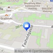 Karte Hietzinger Bandlkramer Wien, Österreich