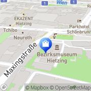 Karte Le Bettina Wien, Österreich