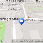 Karte Ottakringer Shop Wien, Österreich