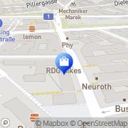 Karte Fell-Shop Wien Meidling Wien, Österreich