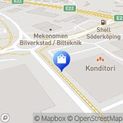 Karta Fix Skomakeri o. Nyckelservice Söderköping, Sverige