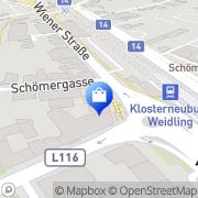 Karte Apotheke Zur heiligen Agnes Klosterneuburg, Österreich