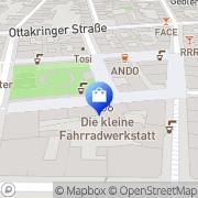 Karte MILCH studio Wien, Österreich