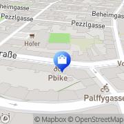 Karte PBIKE - Inh. Johann Pulz Wien, Österreich