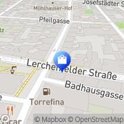 Karte Karat 84 Uhren-Juwelen Wien, Österreich
