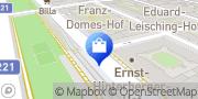 Karte Surfinsel Wien, Österreich