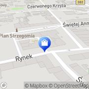 Mapa Kaim Wiesława. Kosmetyki Strzegom, Polska
