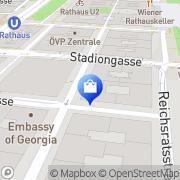 Karte TEASPO GmbH Wien, Österreich