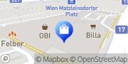 Karte OBI Markt Wien Triester Str. Wien, Österreich