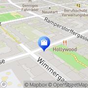 Karte Siebenbrunnen-Apotheke Wien, Österreich