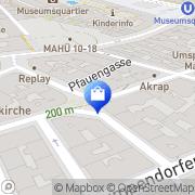 Karte Habari Wien, Österreich