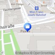 Karte Pearle-Optik Wien, Österreich