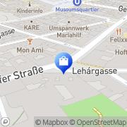 Karte Quas Hanna Wien, Österreich