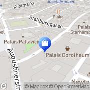 Karte Blau & Scheibl Elisabeth Blau Wien, Österreich