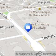 Karte Schutzengel-Apotheke Wien, Österreich
