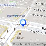 Karte Xund im Untergrund Wien, Österreich