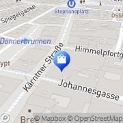 Karte Peek & Cloppenburg Wien, Österreich