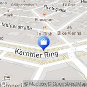 Karte Internationale Apotheke Wien, Österreich