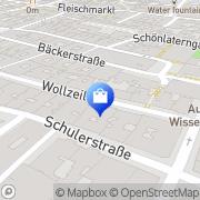 Karte Schuhwerk - Natascha Maly-Csuka u Paul Csuka Wien, Österreich