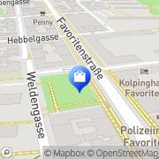 Karte Kousz Alexander Wien, Österreich