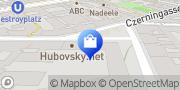 Karte hubovsky.net Wien, Österreich