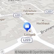 Karte Anita's Mode & Dessous Mattersburg, Österreich