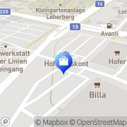 Karte Charles Vögele (Austria Wien, Österreich