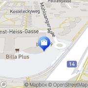 Karte Bosch Elisabeth Wien, Österreich
