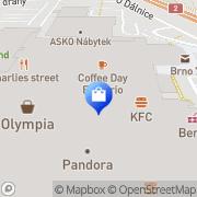 Map Peek & Cloppenburg Brno, Czech Republic