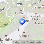 Map Papírnictví - Mikušová Radka Mikulov, Czech Republic
