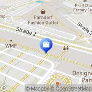 Karte Mountain Warehouse Parndorf, Österreich