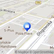 Mapa Gold-Box Poznań, Polska