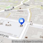 Mapa Apteka przy Rynku Jeżyckim Poznań, Polska