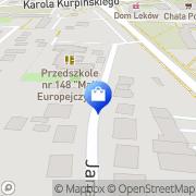 Mapa Iza Poznań, Polska