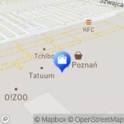 Mapa Yves Rocher Poznań, Polska